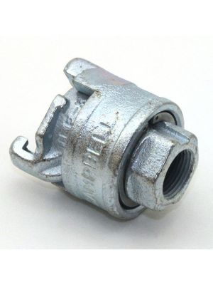 3/4 In Ductile Iron Universal Locking Air Fitting Adapter, Female NPT Threaded, Campbell ULF-3