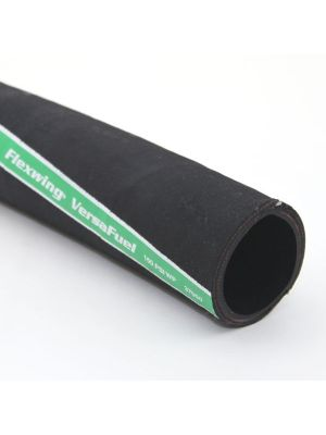 2 In I.D. ContiTech Black 150 PSI Flexwing Versafuel Petroleum Hose, Bulk Hose Priced Per Foot (No End Fittings)