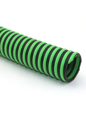 2 In I.D. ContiTech Green Hornet XF 50 PSI Water Suction and Discharge Configurable Hose Assembly with Crimped Ends