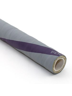 2 In I.D. ContiTech Gray Vintner 250 PSI Food and Beverage Hose, Bulk Hose Priced Per Foot (No End Fittings)