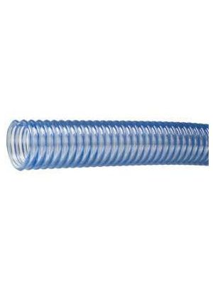6 In I.D. Tigerflex WT Series Food Grade PVC Material Handling Hose for Beer, Wine, Beverage (Priced Per Foot)