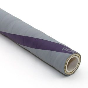 1 In I.D. ContiTech Gray Vintner 250 PSI Food and Beverage Hose, Bulk Hose Priced Per Foot (No End Fittings)