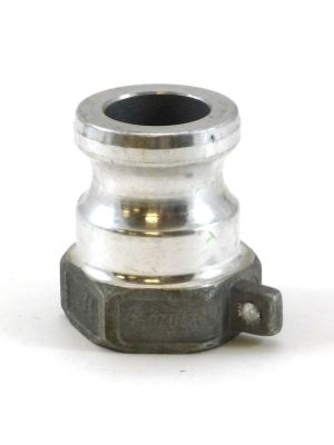 1/2 In Aluminum Cam and Groove Part A Male Adapter x FIP, Ever-Tite 5AAL 633A