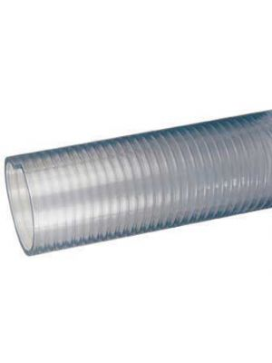 1-1/4 In I.D. Tigerflex FT Series Heavy Duty Food Grade PVC Suction and Discharge Hose for Beer, Wine, Beverage (Priced Per Foot)