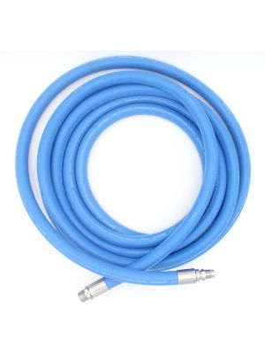 3/4 In I.D. ContiTech Blue Fortress 300 PSI Washdown Configurable Hose Assembly with Crimped Ends